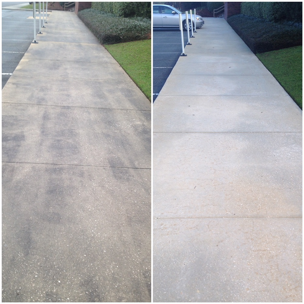 Concrete Cleaning Gallery